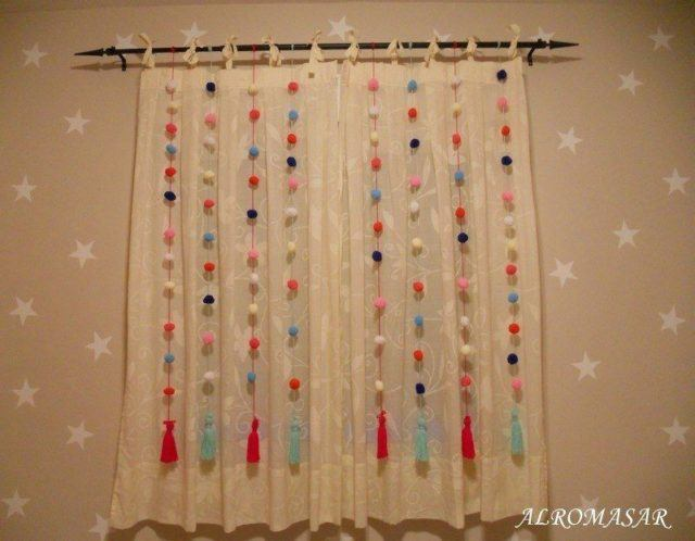 20 ideas de decoraci n de cortinas para salones 2018 for Ideas cortinas salon
