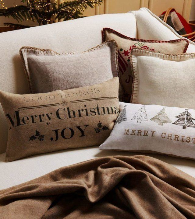 Cat logo zara home navidad 2018 - Mantas de sofa zara home ...