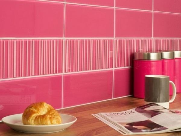 Cocinas rosas diseño de cocina rosa detalle
