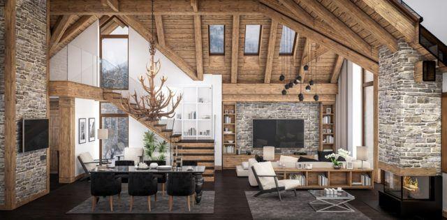 Casas rusticas interior