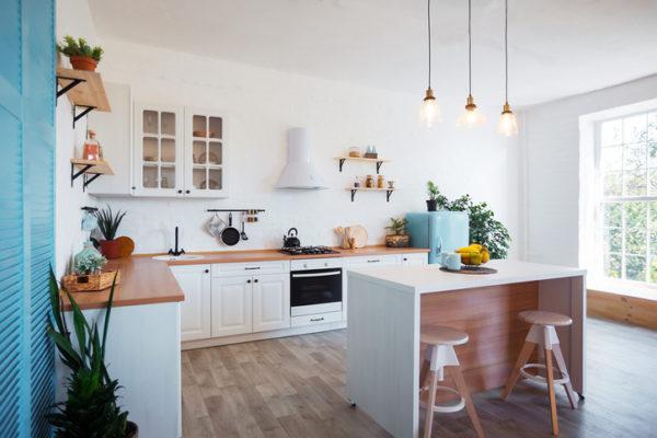 Cocinas isla moderna