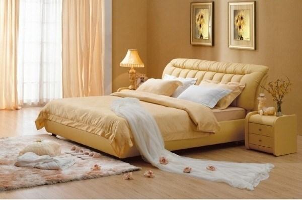 El color arena para decorar las paredes c mo combinarlo for Color de moda para el dormitorio principal