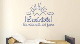 10 cuadros y vinilos con frases de la vida para decorar nuestra casa
