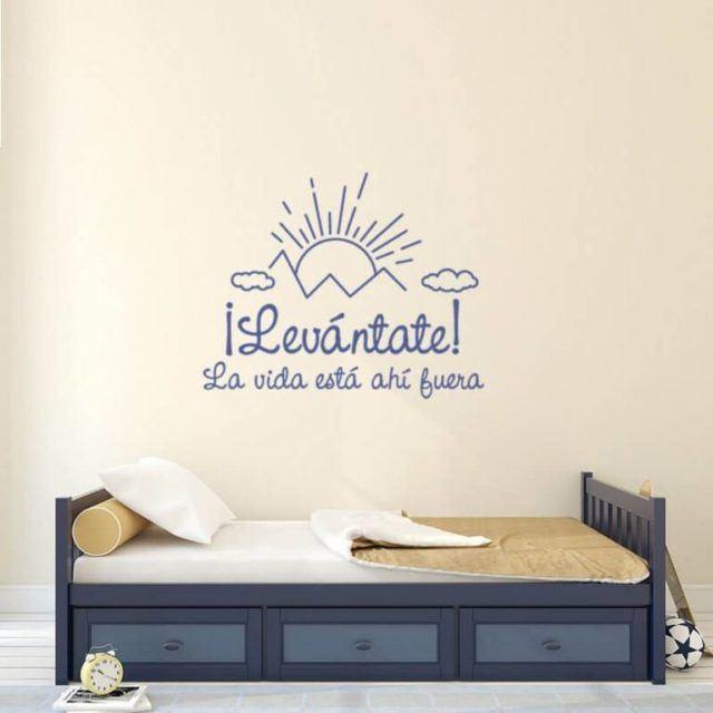 10 cuadros y vinilos con frases de la vida para decorar - Fotos de habitaciones bonitas ...