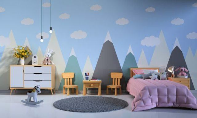 papel-pintado-paredes-ninos-istock