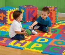 Suelo niños| alfombra puzzle