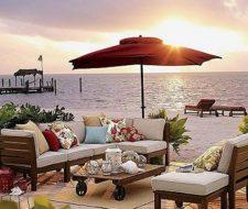 Muebles exterior diseño