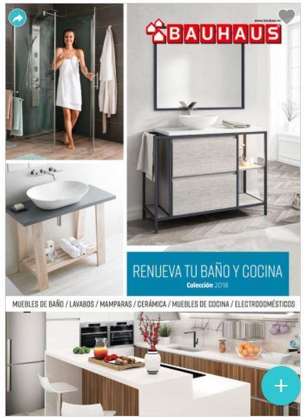 Catálogo Bauhaus baños y cocinas 2018