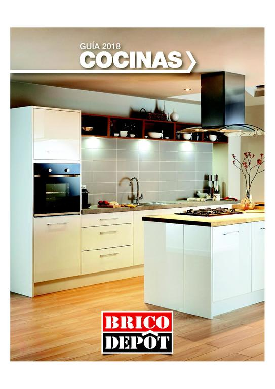 Brico depot cocinas 2018 cat logo anual y ofertas for Catalogo cocinas pequenas