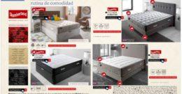 Catálogo Conforama camas 2019 Julio