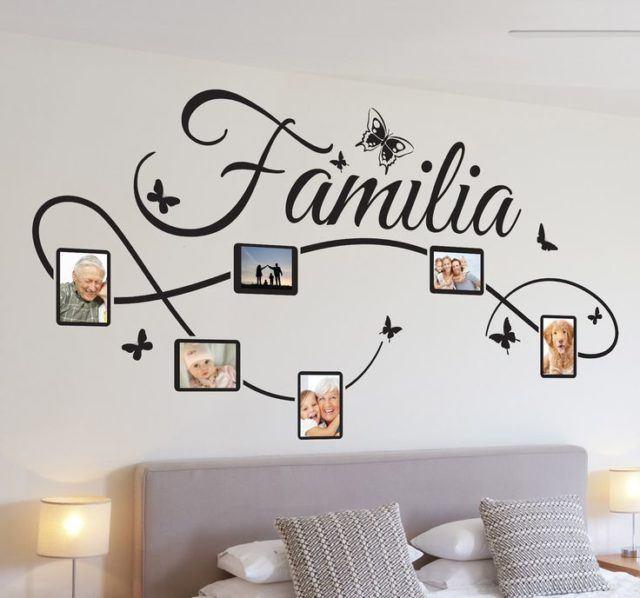 10 cuadros y vinilos con frases de amor para decorar nuestra casa - Frases para vinilos habitacion ...