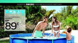 Catálogo de Piscinas Carrefour verano 2019
