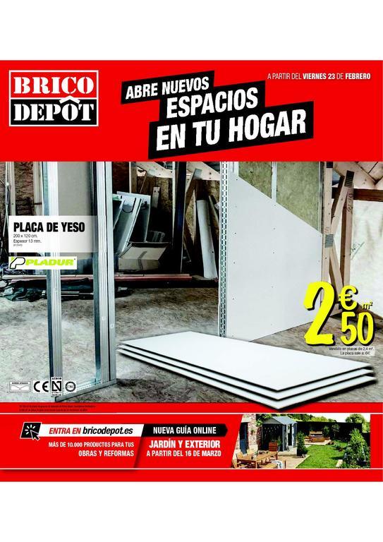Brico depot cat logo de ofertas marzo 2018 for Bricodepot pamplona catalogo