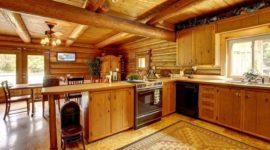 More than 100 photos of rustic kitchens decorated with charm