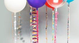 Balloon decorations for parties and events