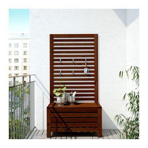Cat logo de terraza y jard n ikea 2018 muebles de - Banco exterior ikea ...