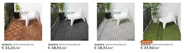 Mobiliario Terraza Ikea De La Coleccin Pplar Vais A Encontrar