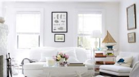 How to keep white walls clean
