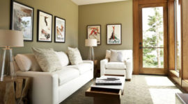 More than 100 small, modern and comfortable living rooms for all budgets