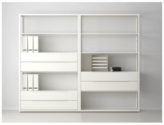 Kallax Estanteria Efecto Roble Tinte Blanco Ikea