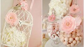 Ideas for centerpieces for christenings 2016