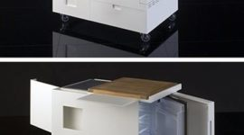 Kitchenette: ideal for small kitchens