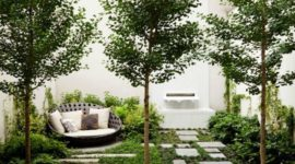 Ideas to decorate small and modern gardens