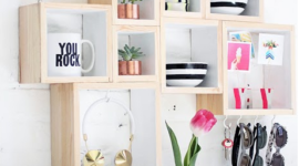 The best photos of wooden shelves