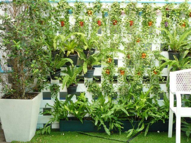 Ideas jardin pequeño jardin vertical
