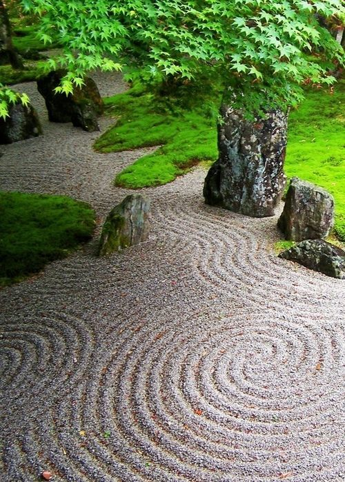 Jardines zen arena