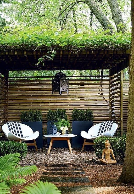 Jardines zen estructura buda
