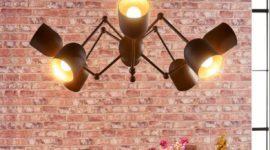 Cómo decorar con lámparas de techo