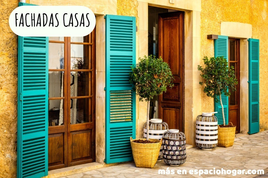 60 Fotos E Ideas De Colores Para Fachadas De Casas Y