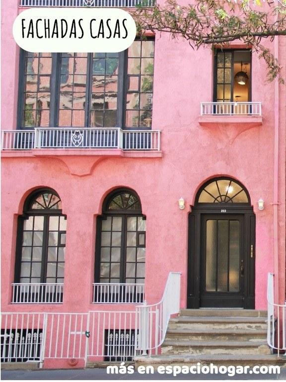 60 Fotos E Ideas De Colores Para Fachadas De Casas Y