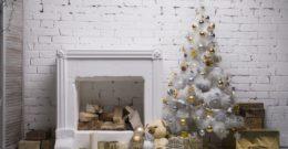 Decoración de navidad en blanco: ideas originales 2018