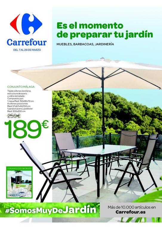 Catálogo Carrefour muebles de jardín 2020 - EspacioHogar.com