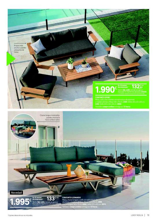 Catálogo Jardines Y Terrazas De Leroy Merlín 2020