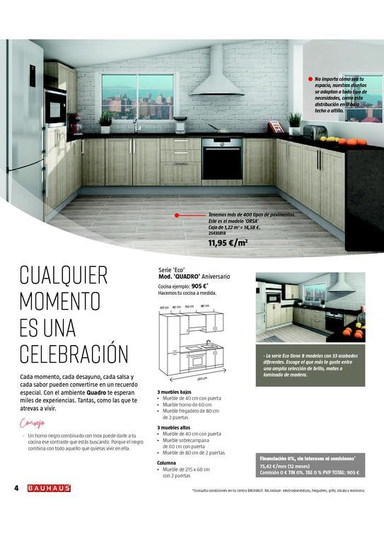 Catálogo Bauhaus Baños Y Cocinas 2020 Espaciohogar Com