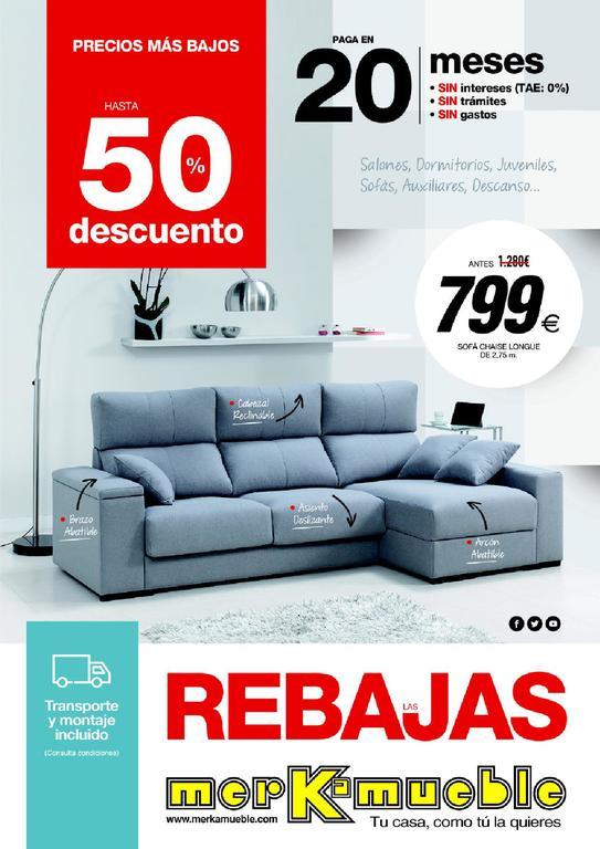 Catálogo Merkamueble enero 2019