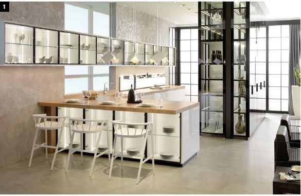 El catálogo de cocinas Porcelanosa 2020
