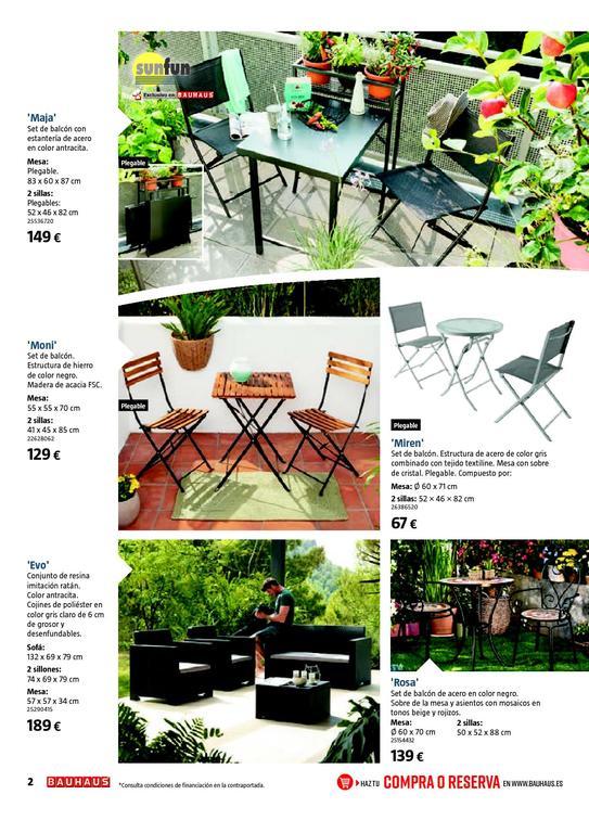 Catálogo Bauhaus Jardín 2020 Espaciohogar Com
