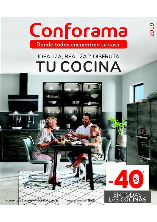 Catálogo de cocinas Conforama 2020 - EspacioHogar.com