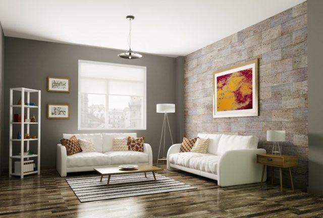 Cómo decorar las paredes del salón: tendencias en decoración 2019