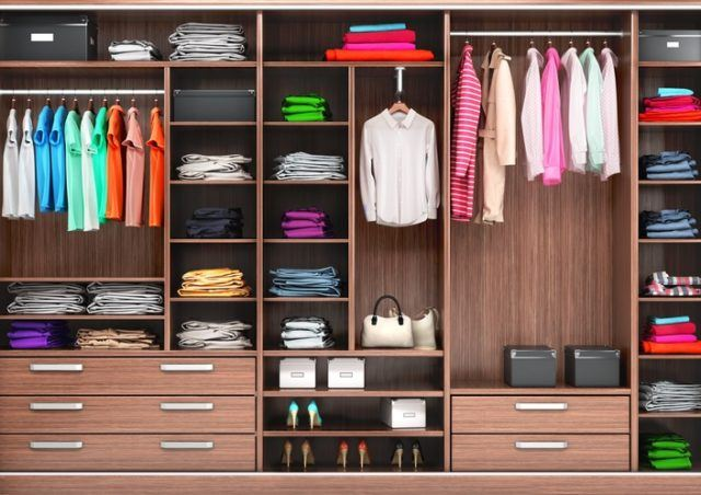 Organizar armario dormitorio