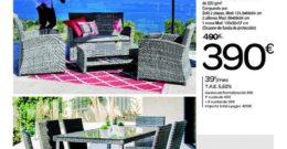 Catálogo Carrefour muebles de jardín – Junio 2019