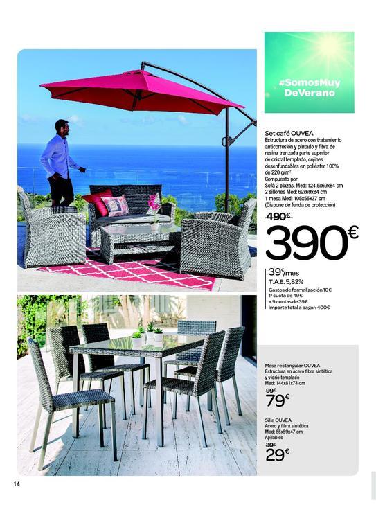 Catálogo Carrefour Muebles De Jardín 2020 Espaciohogar Com