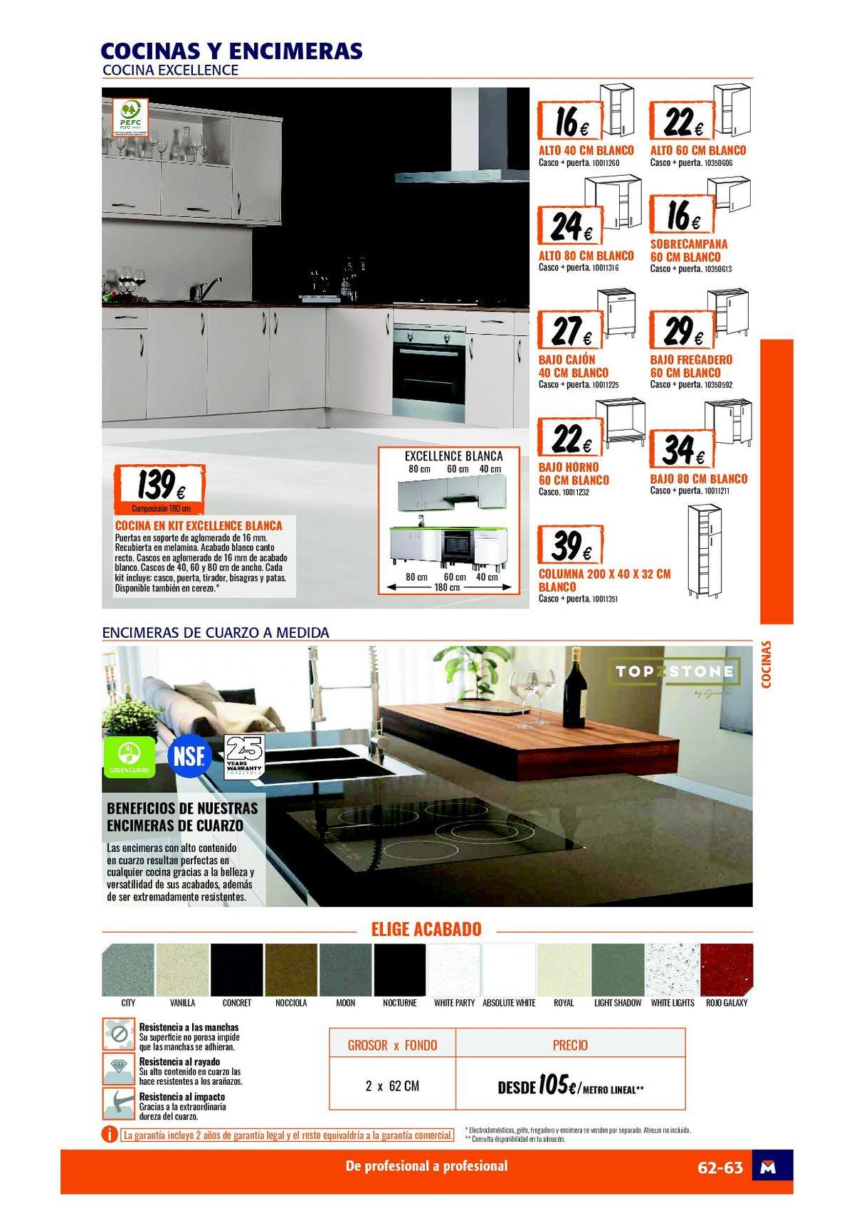 Catalogo De Cocinas De Bricomart 2020 Espaciohogar Com
