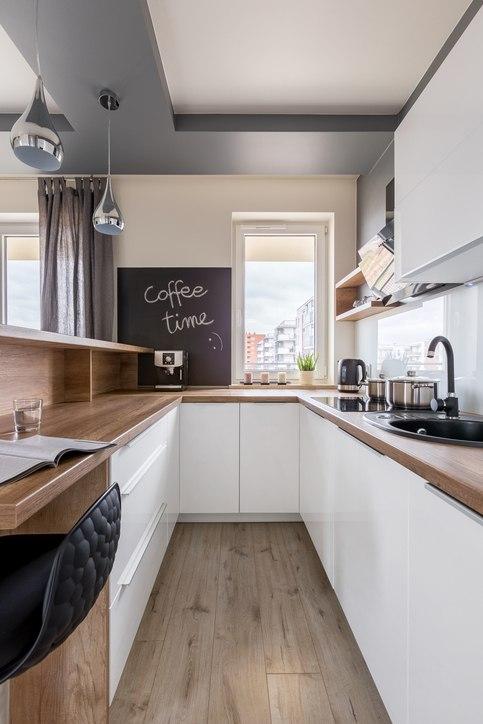 Cocinas pequenas 2019 blancas