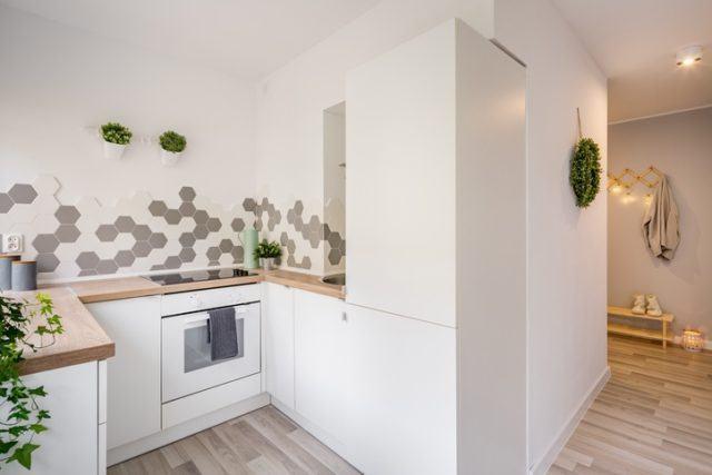 Cocinas pequenas 2019 nordicas
