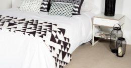 Cómo colocar un plaid en la cama: 5 ideas bonitas